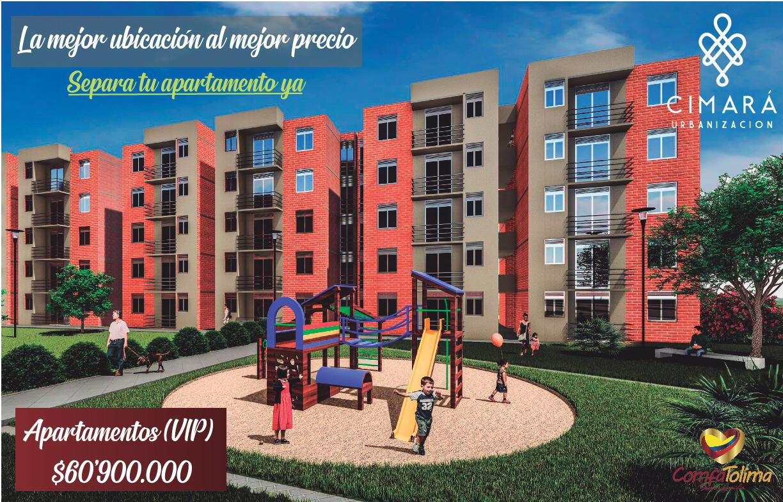 Urbanización Cimará proyecto de vivienda de ComfaTolima a precio imperdible