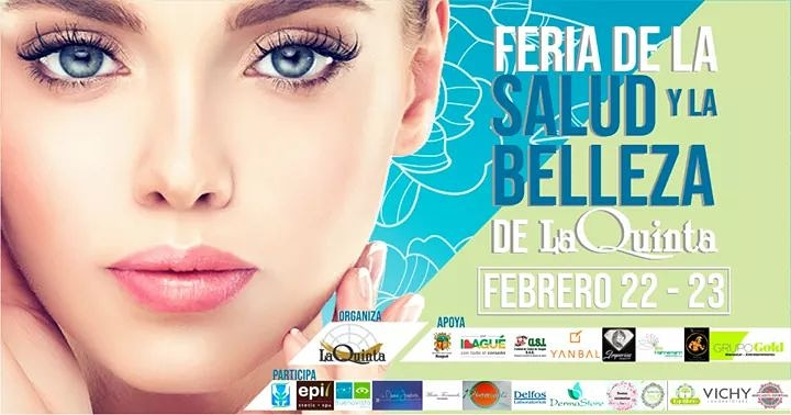 """El Centro Comercial La Quinta te invita este 22 y 23 de Febrero. """"Feria de la Salud y la Belleza"""""""