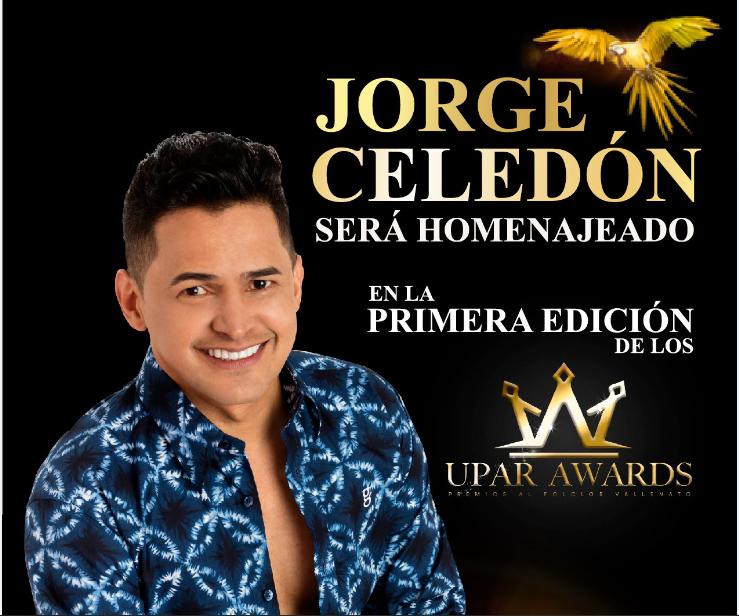 Jorge Celedon será homenajeado en la primera edición de los Upar Awards
