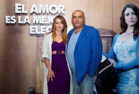 """EL AMOR Y LA LUCHA fueron  los protagonista en el lanzamiento  para medios  """"La gloria de Lucho"""","""