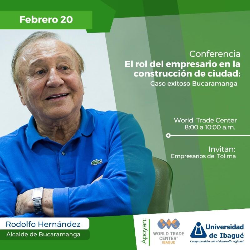 Mañana conferencia con el Alcalde de Bucaramanga