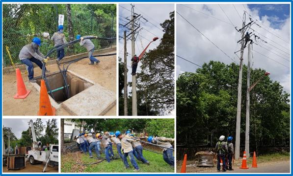 Mejorando la confiabilidad del servicio de energía en la zona oriente del Tolima
