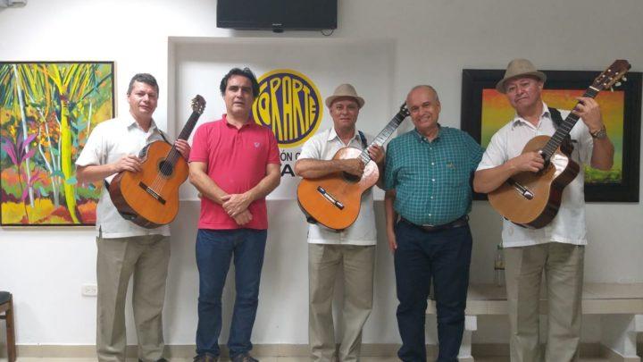 """Este jueves santo se llevó a cabo el Pre lanzamiento del 24 Festival Nacional de Música """"Mangostino de Oro"""" en la Plaza José Celestino Mutis de Mariquita -Tolima."""