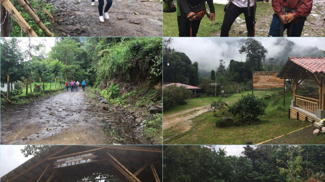 "A 918 personas se les cumplió en su visita en La Reserva Forestal Protectora Regional  ""Alto Combeima"""