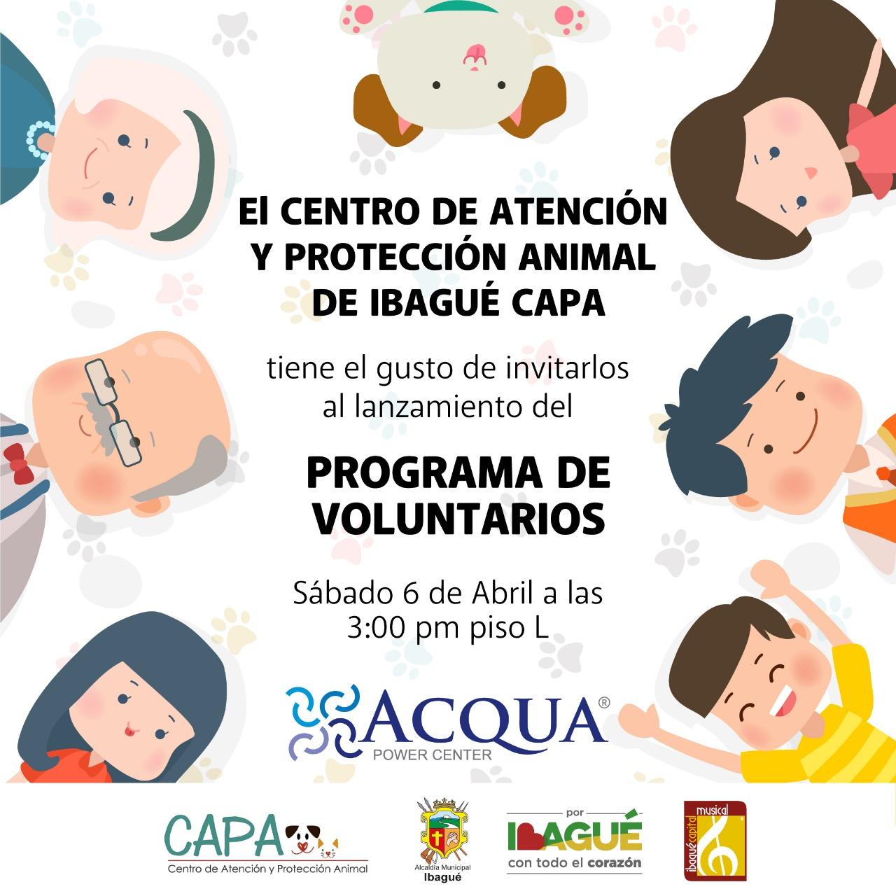 Programa de voluntarios del CAPA