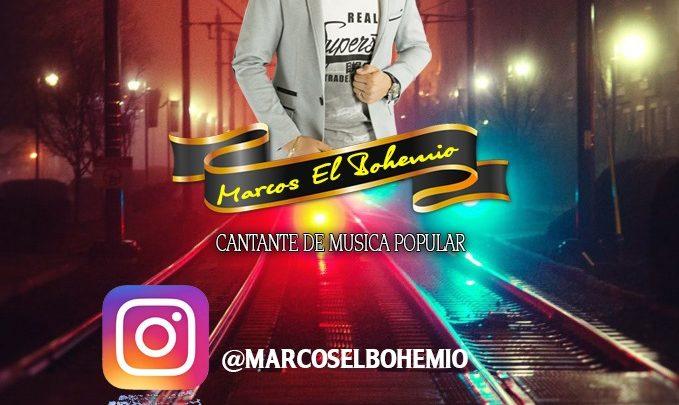 """Marcos """"El Bohemio"""" Es un joven Bogotano"""