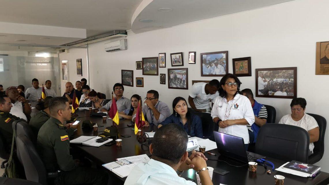 Fuerza Pública y Gobierno Departamental articulan acciones para garantizar la seguridad en la Semana Mayor