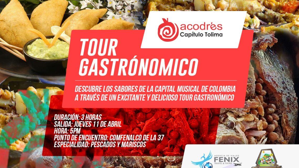 Hoy lanzamiento Tour Gastronómico con especialidad de Pescados y Mariscos en Ibagué