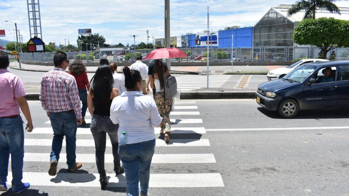 """Agencia de Seguridad Vial. """"Protege los peatones Ibaguereños."""