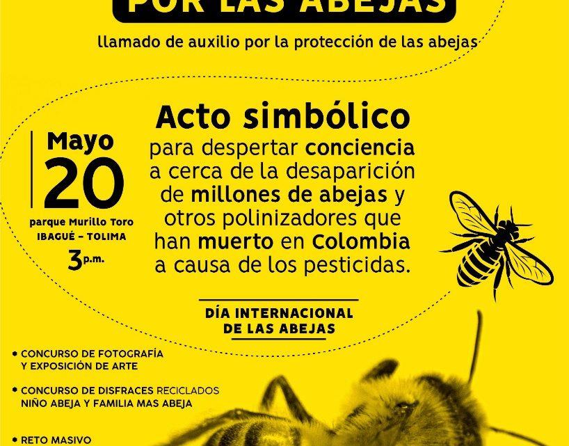 Sin abejas no hay polinización, sin polinización no hay flores, ni frutos, ni hierva y tampoco seres humanos.