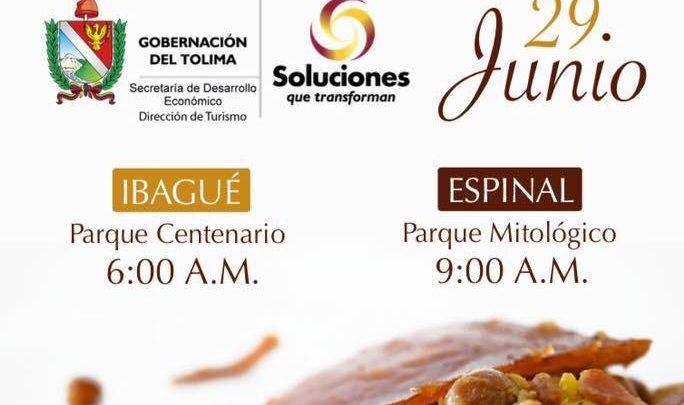 Atención: Turistas colombianos ¡ Todos a comer lechona Tolimense este 29 de junio!.