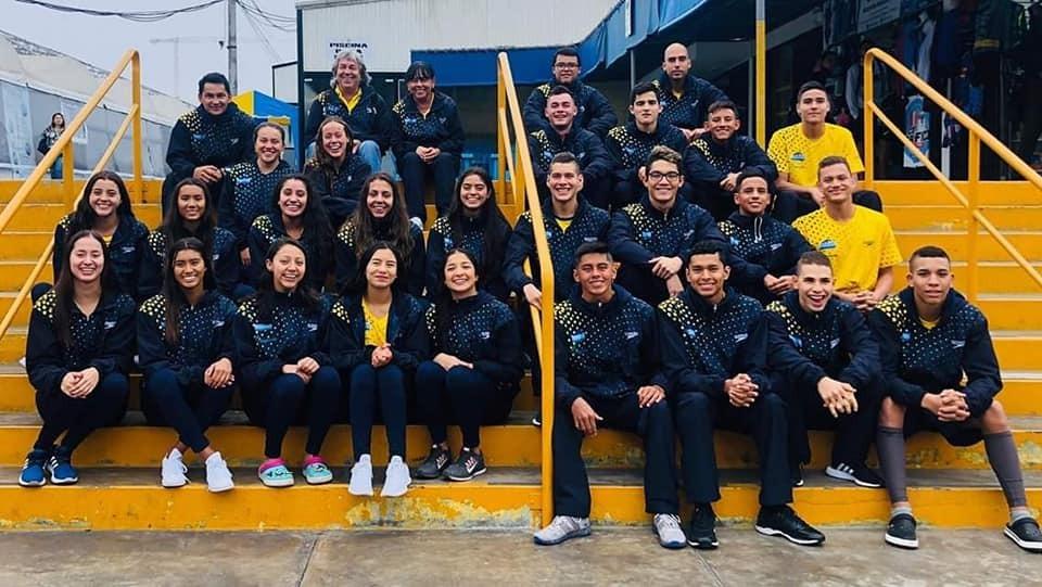 La liga de natación del Tolima clasificatorio a Juegos Nacionales 2019