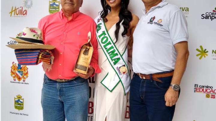Heidy Carolina Hernández Camayo representante por Tolima al Reinado Nacional del Bambuco 2019.