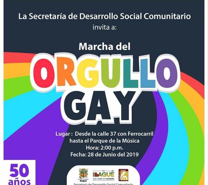 Hoy viernes será la marcha del orgullo GAY en ibagué -Tolima
