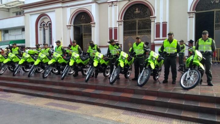 30 cámaras de seguridad y motos vigilan las 24 horas del día cuidaran el Espinal en estas fiestas de San Pedro.