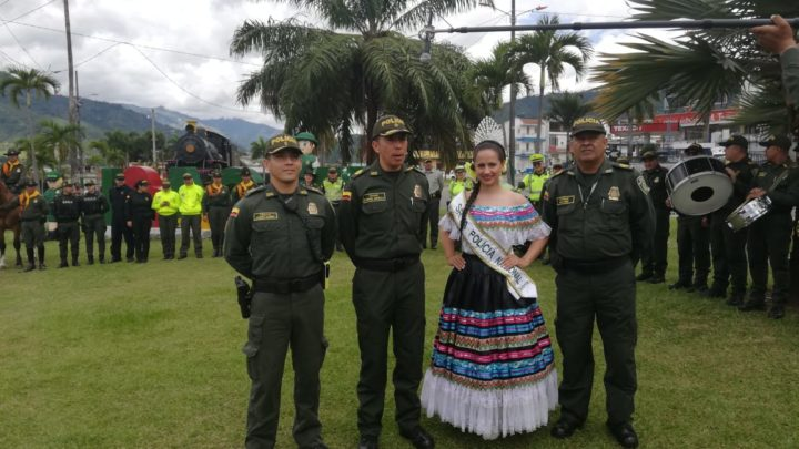 La Policia lanza plan de seguridad del Festival Folclórico Colombiano en Ibagué
