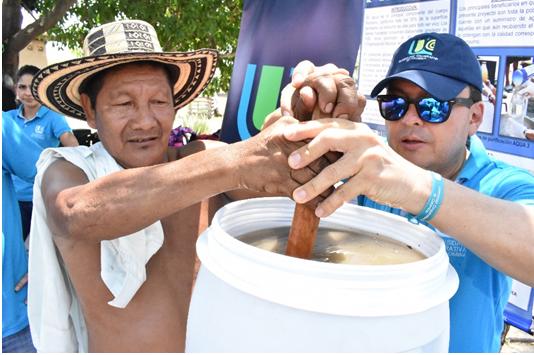 Proyecto agua: tratamiento domestico de agua potable  Para comunidades vulnerables y marginales