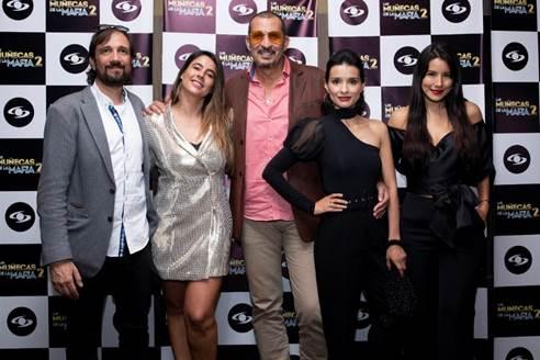 Gran lanzamiento de 'las muñecas de la mafia 2' en Bogotá