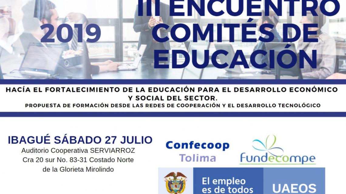 Fortalecer los Comités de Educación de las organizaciones solidarias del Tolima en plataformas tecnológicas.