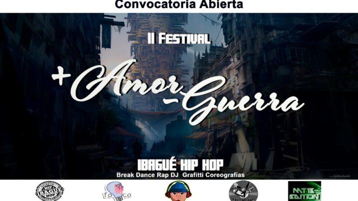 ll Festival más Amor menos Guerra Ibagué
