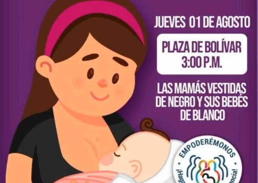 "Hoy jornada de lactancia colectiva ""Leche al Parque"" Ibague."