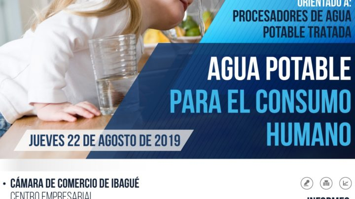 Evento Agua Potable para consumo humano.