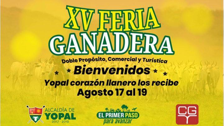 XV Feria Ganadera Doble Propósito, Comercial y Turística Yopal