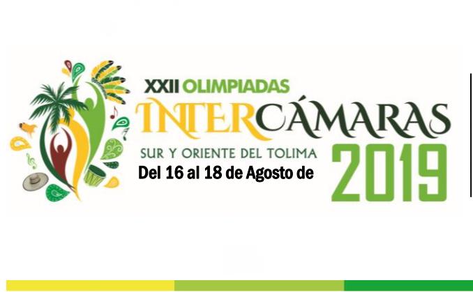 XXII Olimpiadas Intercámaras 2019 en Melgar
