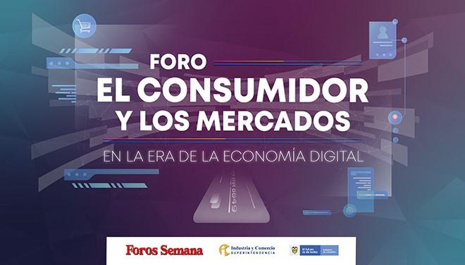 """29 de agosto Cali  Foro """"El consumidor y los mercados en la era de la economía digital"""""""