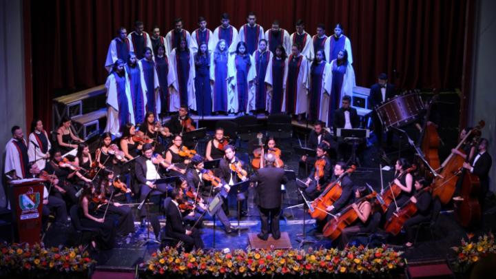 Concierto Orquesta Cámara, Sinfónica, Coro de la Universidad del Tolima