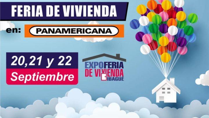 """Ibaguè: 20,21,22,de Septiembre EXPOFERIA DE VIVIENDA """" Panamericana"""""""