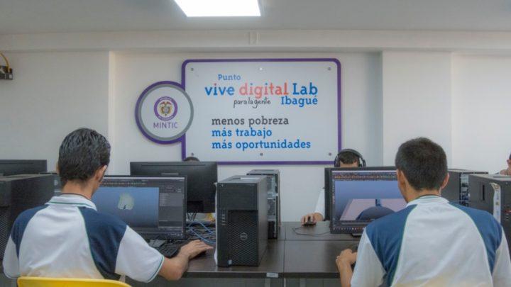 Conozca la ubicación y los servicios de los Puntos Vive Digital Ibaguè.