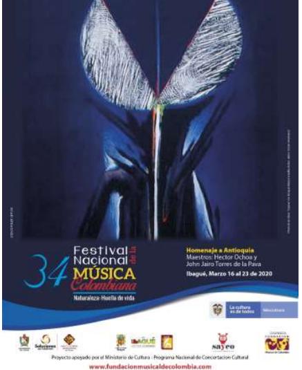 Abre convocatoria  Festival Nacional de la Música  Colombiana.
