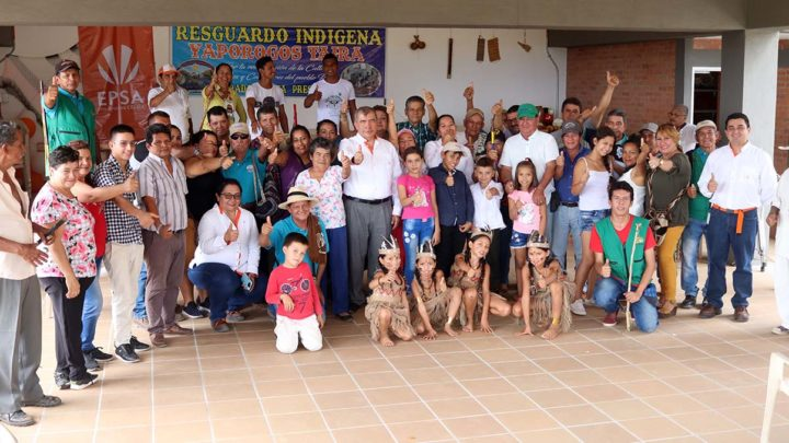 Resguardo indígena en Prado estrena sede comunal construida por Celsia