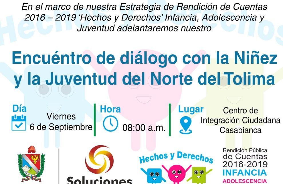 Encuentro Diálogo con la Niñez y Juventud del Norte del Tolima