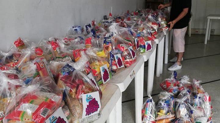Jóvenes Ibaguereños donaron más de una tonelada de alimentos para comunidades vulnerables