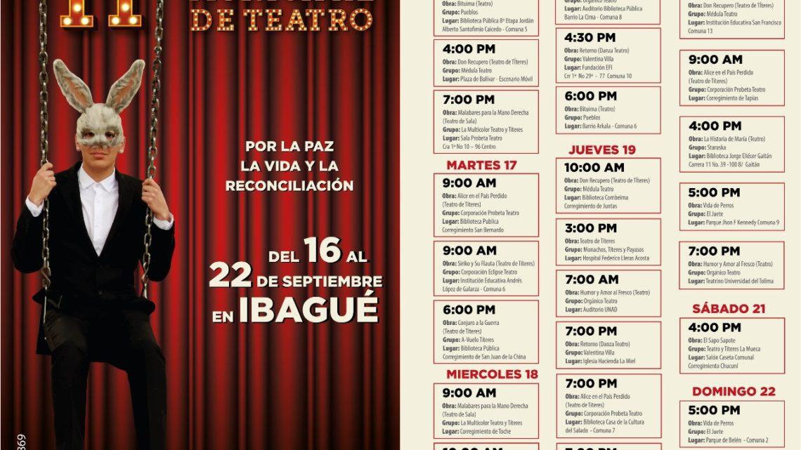 Disfrute las funciones del II Festival Municipal de Teatro
