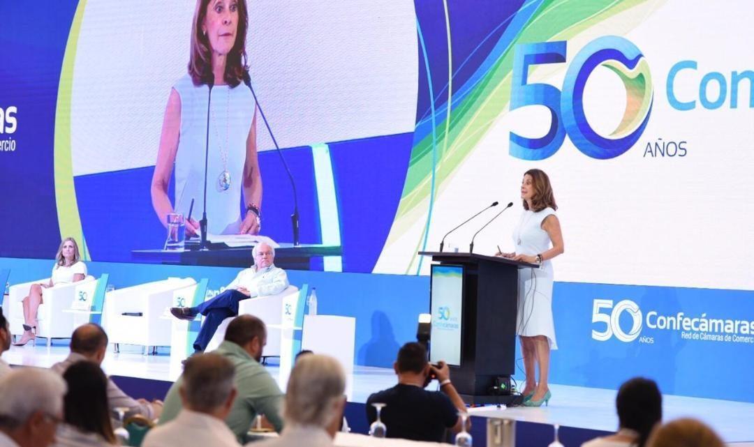 La Camara comercio Ibaguè participa en el Congreso de Confecámaras 2019