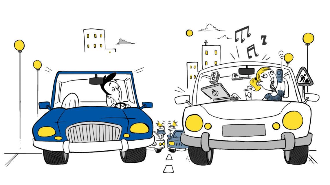 En Ibaguè sancionados por utilizar el celular mientras conducen