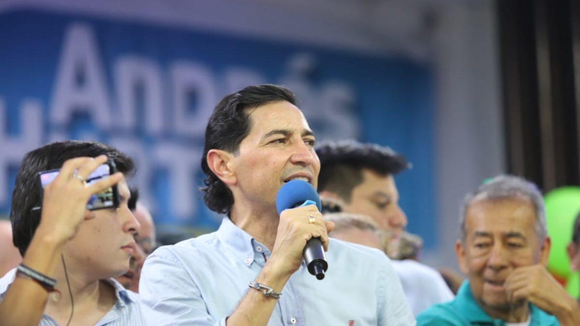 """""""Vamos a transformar a Ibagué. La ciudad merece un cambio de verdad"""": Andrés Hurtado"""