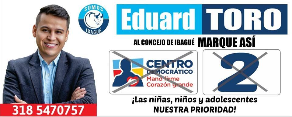 EDUARD TORO El concejal de niños y adolescentes.
