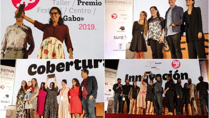 Estos son los cuatro ganadores del Premio Gabo 2019