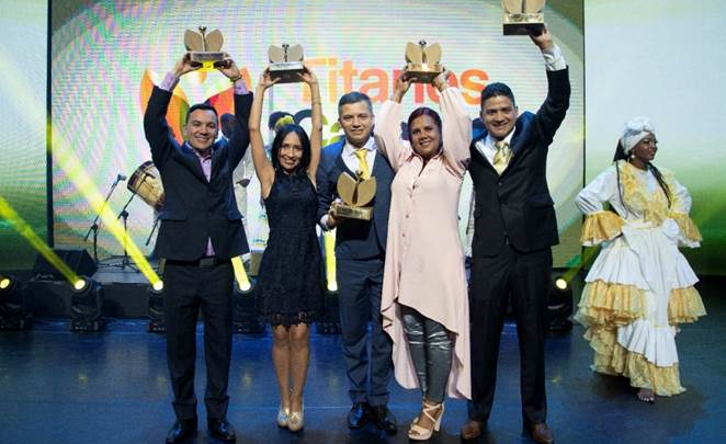COLOMBIA ELIGIÓ A LOS TITANES CARACOL 2019