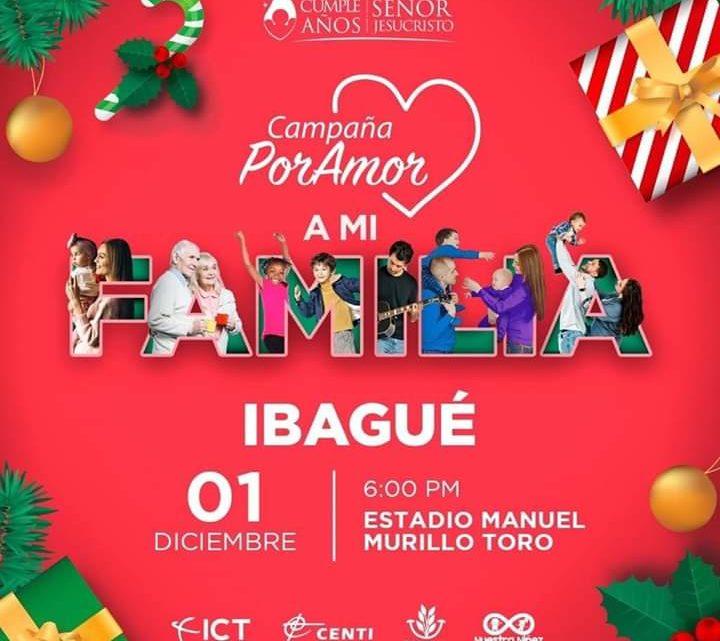 Los Cumpleaños del señor Jesucristo en Ibagué ¡Por Amor a mi ciudad!