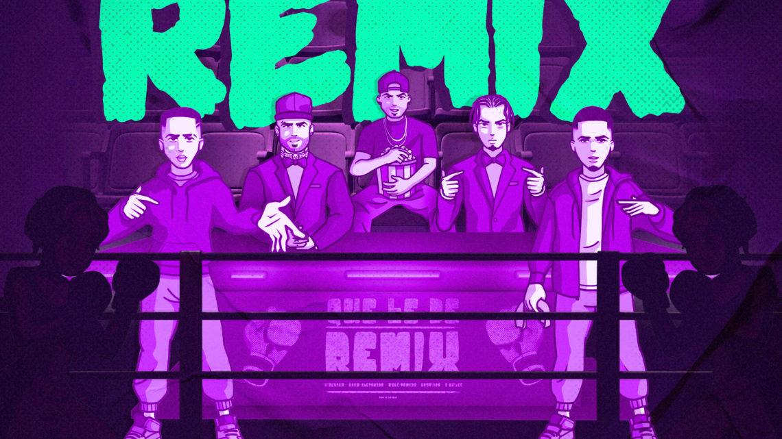 """""""QUE LE DÉ REMIX"""" lo nuevo de  RAUW ALEJANDRO, NICKY JAM, BRYTIAGO, MYKE TOWERS Y JUSTIN QUILES"""