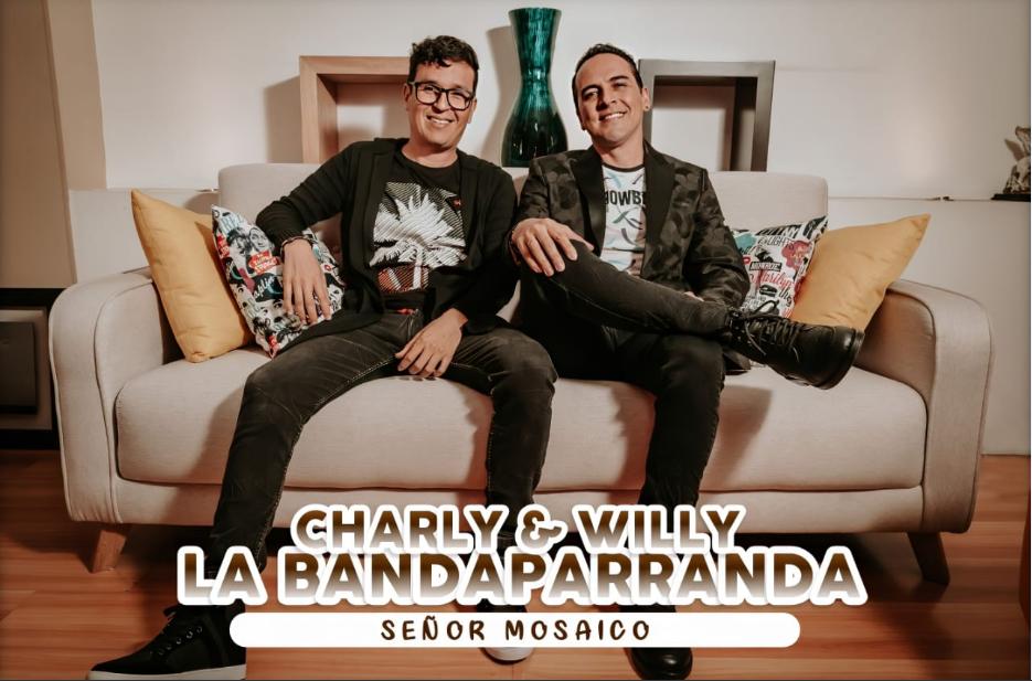 """Charly & Willy,LaBanda Parranda presenta su canción """"El Señor Mosaico"""" en Ibaguè"""