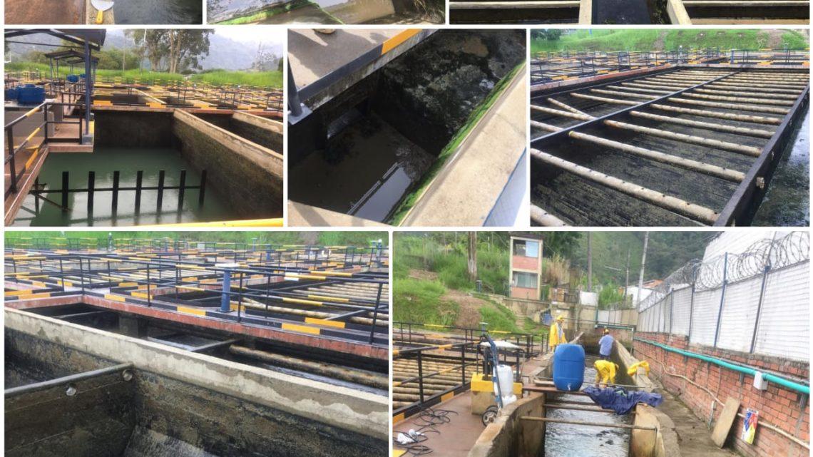IBAL avanza en el lavado de los 4 tanques en Ibaguè