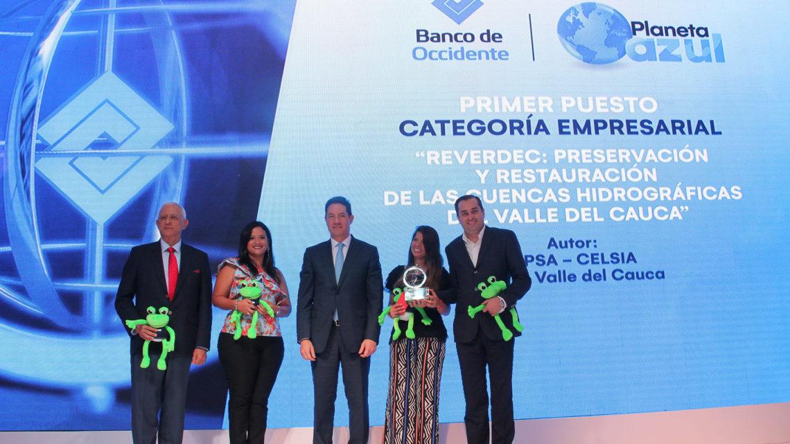 Celsia gana Premio Nacional de Ecología Planeta Azul