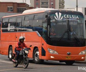 Celsia pondrá  120 buses eléctricos para el Sistema Integrado de Transporte  Público (SITP)