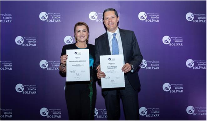 NOTICIAS CARACOL gana dos premios en periodismo SIMÓN BOLÍVAR